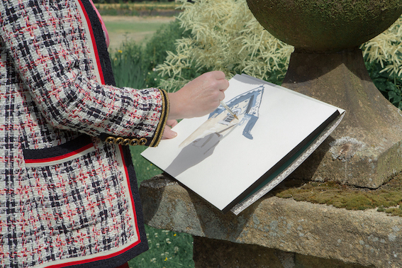 Rachel Feinstein a Chatsworth House nel Derbyshire - Pictures by Samuel Keyte - Courtesy of Gucci