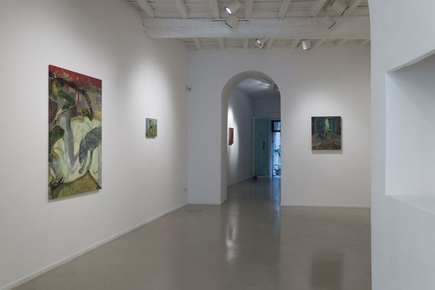 Guglielmo Castelli. Iposcenio. Exhibition view at Francesca Antonini Arte Contemporanea, Roma 2019