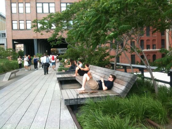 High Line, New York. Photo Claudia Zanfi