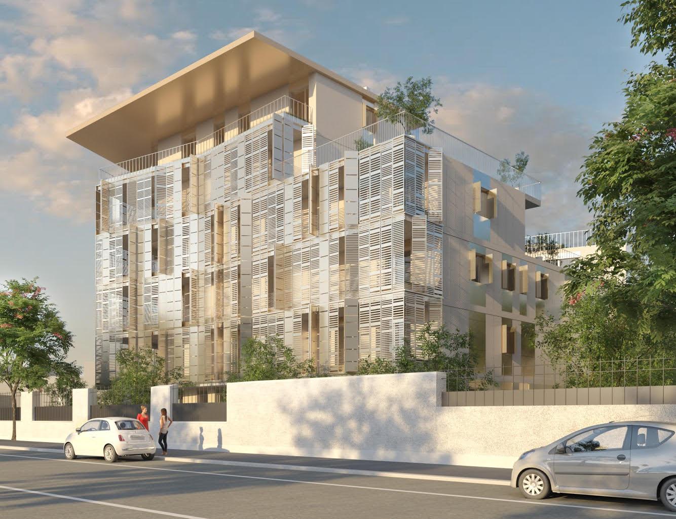 Il nuovo progetto della Villa Paolina di It's visto da una facciata laterale