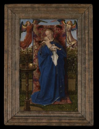 Jan van Eyck, The Madonna at the Fountain, 1439, Royal Museum of Fine Arts, Antwerp © lukasweb.be Art in Flanders vzw. Photo Hugo Maertens