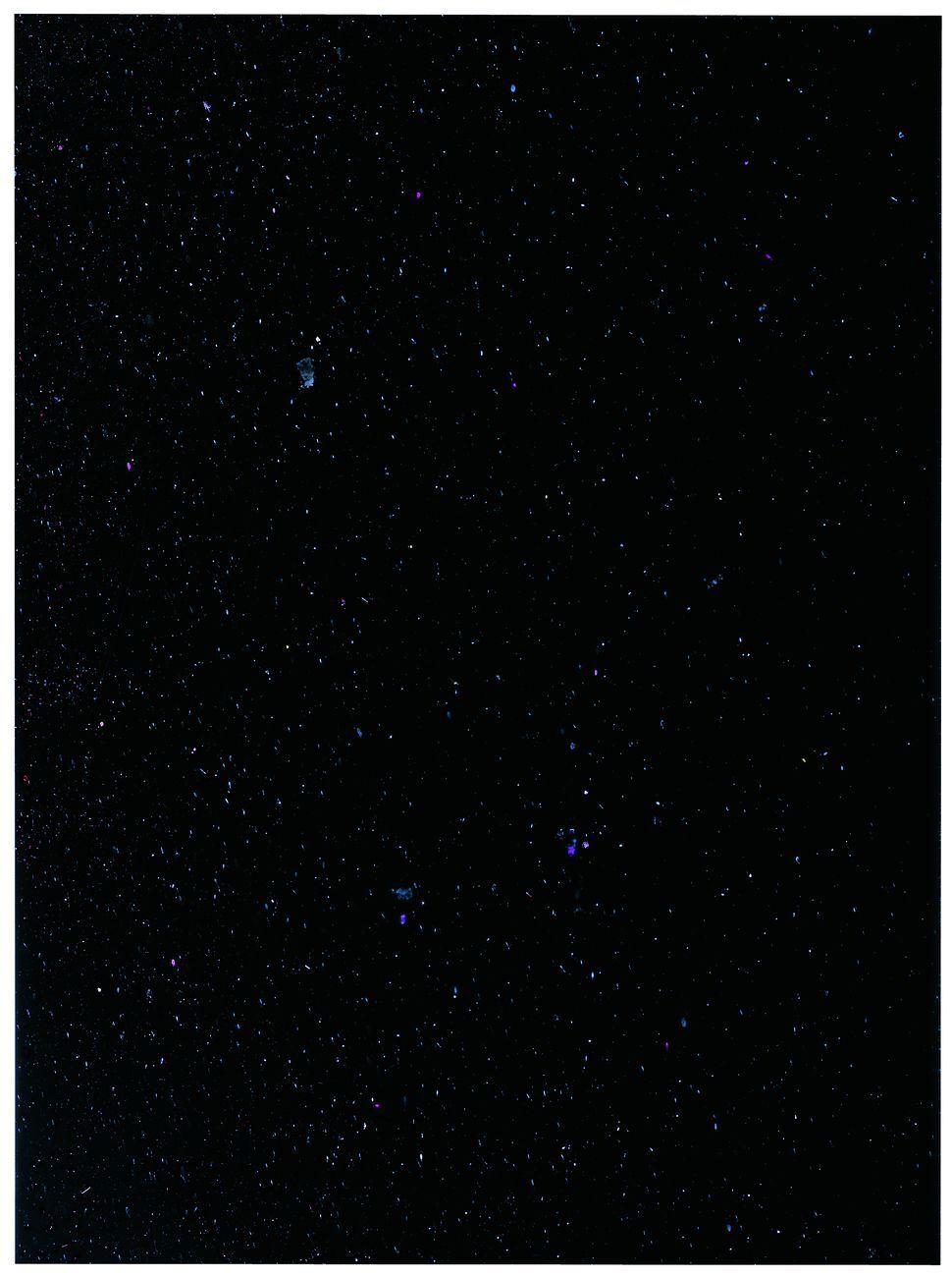 Joan Fontcuberta, MN 3. Canes Venaciti (NGC 5272), dalla serie Constelaciones, 1993