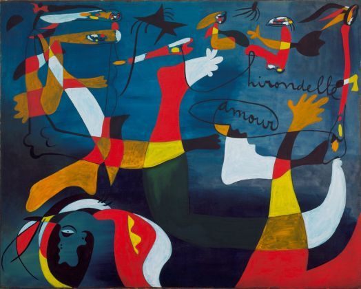 Joan Miró. Hirondelle Amour. Barcelona, late fall 1933-winter 1934. © 2018 Successió Miró Artists Rights Society (ARS), New York ADAGP, Paris