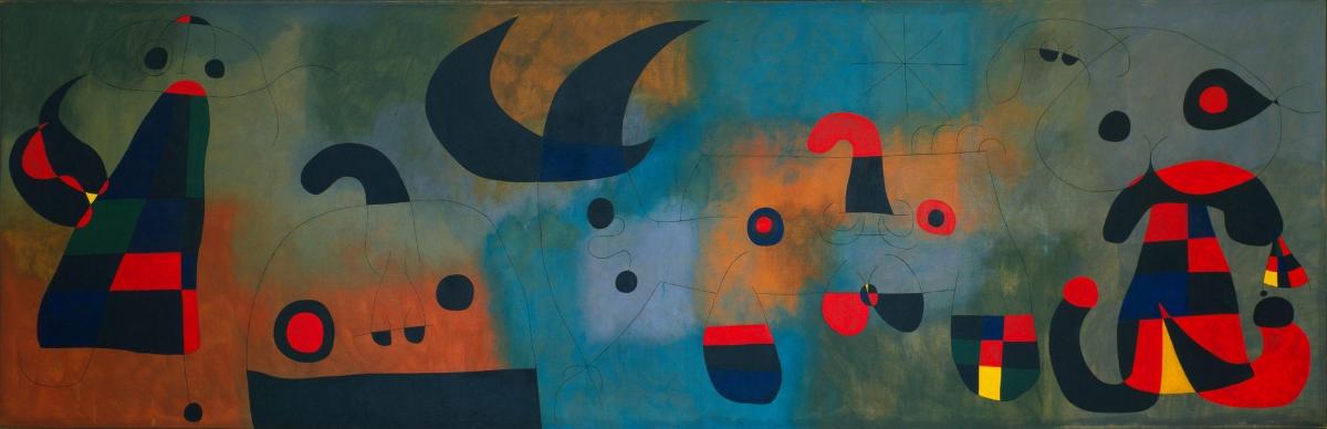 Joan Miró. Mural Painting. Barcelona, 1950-1951. © 2018 Successió Miró Artists Rights Society (ARS), New York ADAGP, Paris