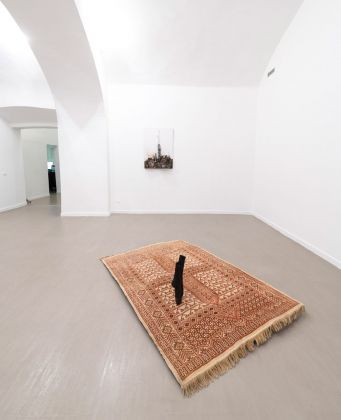 Krištof Kintera. No one has nothing. Installation view at z2o Sara Zanin Gallery, Roma 2019. Photo Giorgio Benni