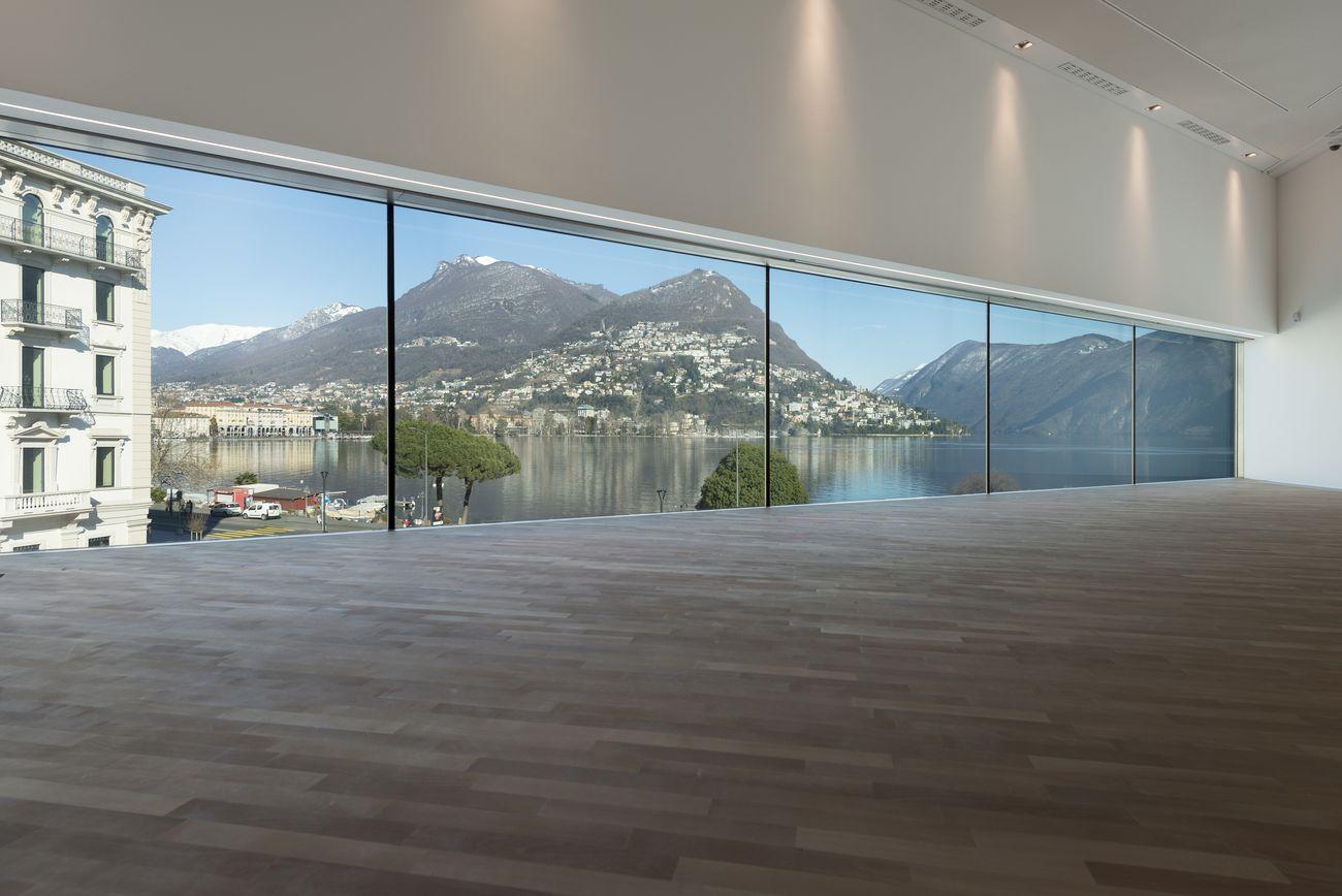 LAC, Lugano, il primo piano © LAC. Photo Studio Pagi
