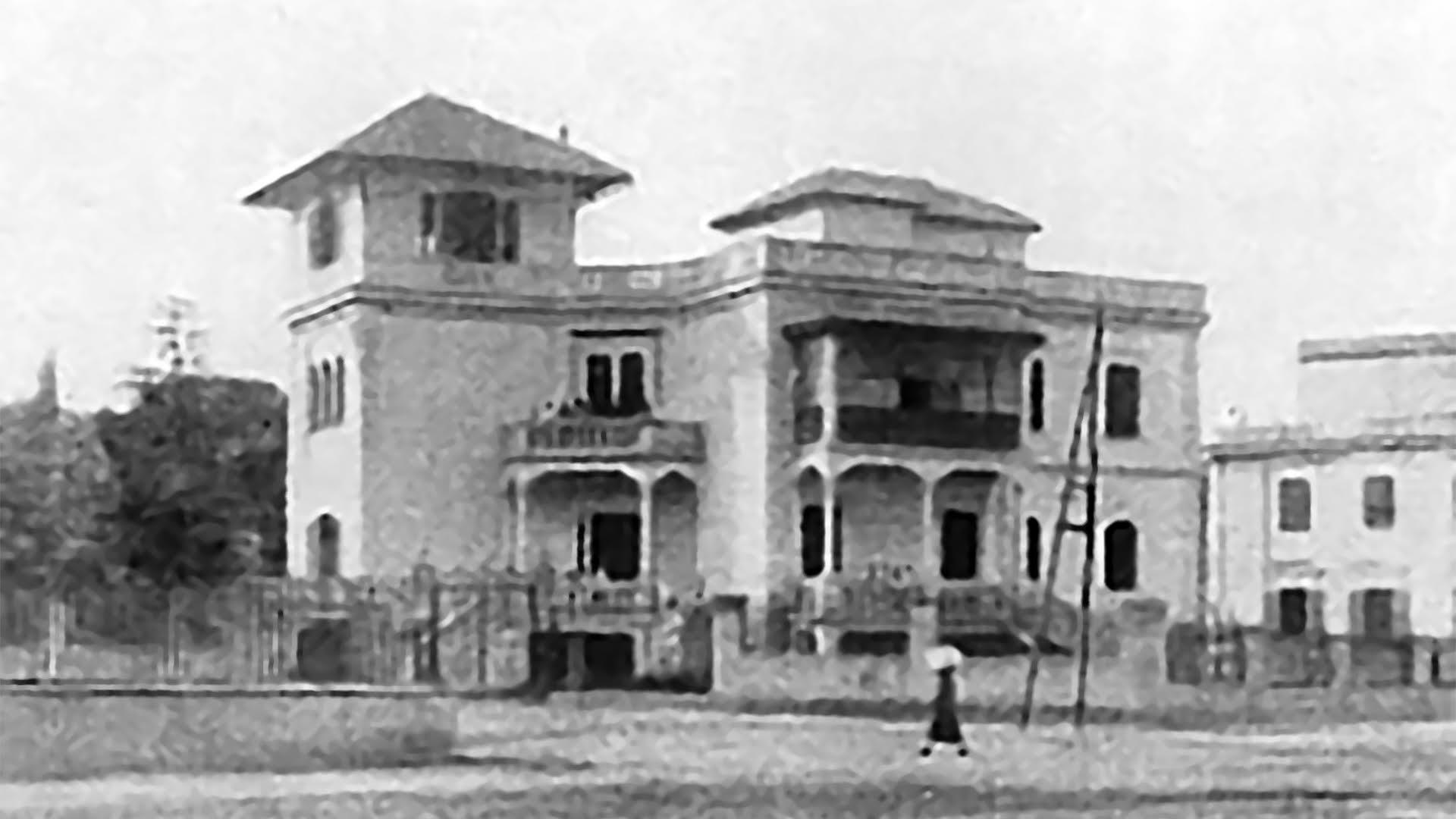 La Villa Paolina originale nel 1922