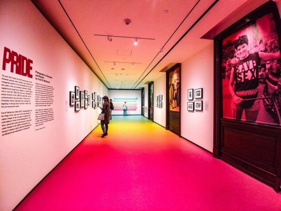 La galleria dedicata alla mostra Pride al Museum of the City of New York. Photo Maurita Cardone