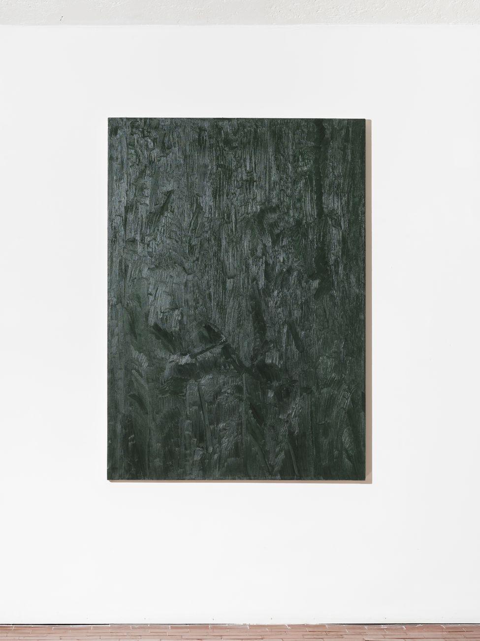 Lorenzo Di Lucido, Late, 2017, olio su tela, 140x100 cm. Courtesy Cosimi Filippini
