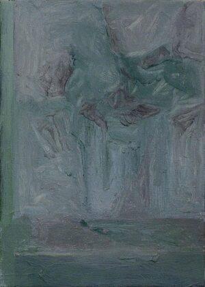 Lorenzo Di Lucido, Rumine, pensando a Morandi, olio su tela, 30x24 cm