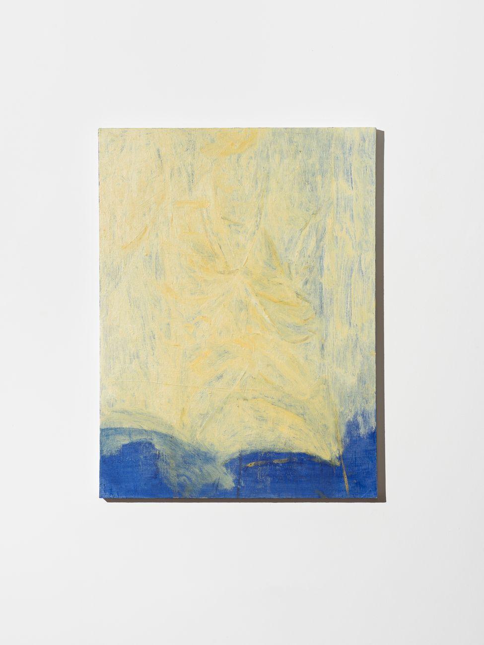 Lorenzo Di Lucido, Tavola di Grizzana, 2017, olio su tela, 80x60 cm. Courtesy Cosimo Filippini