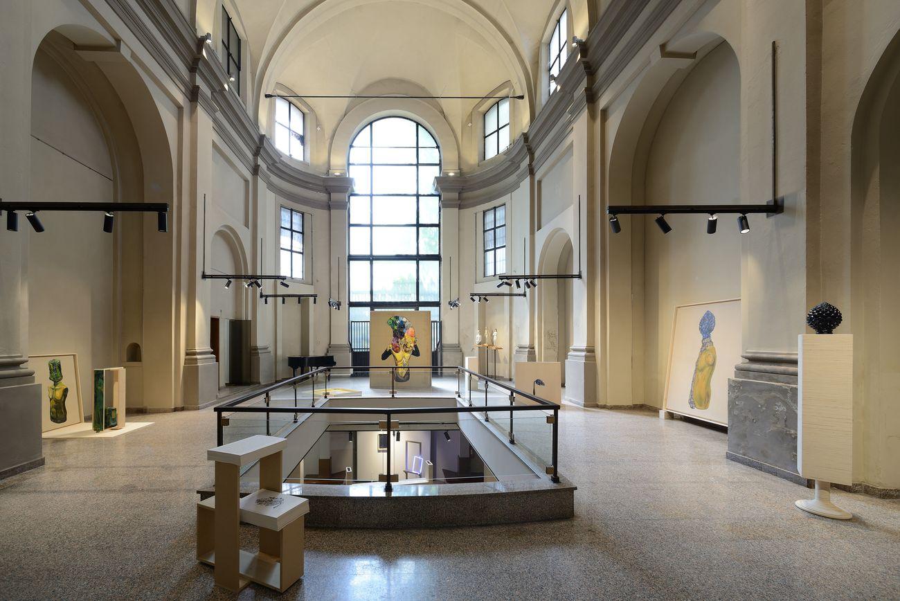Matteo Fato. Il presentimento di altre possibilità. Exhibition view at Studio Museo Francesco Messina, Milano 2019. Photo Carlo Alberto Sereni