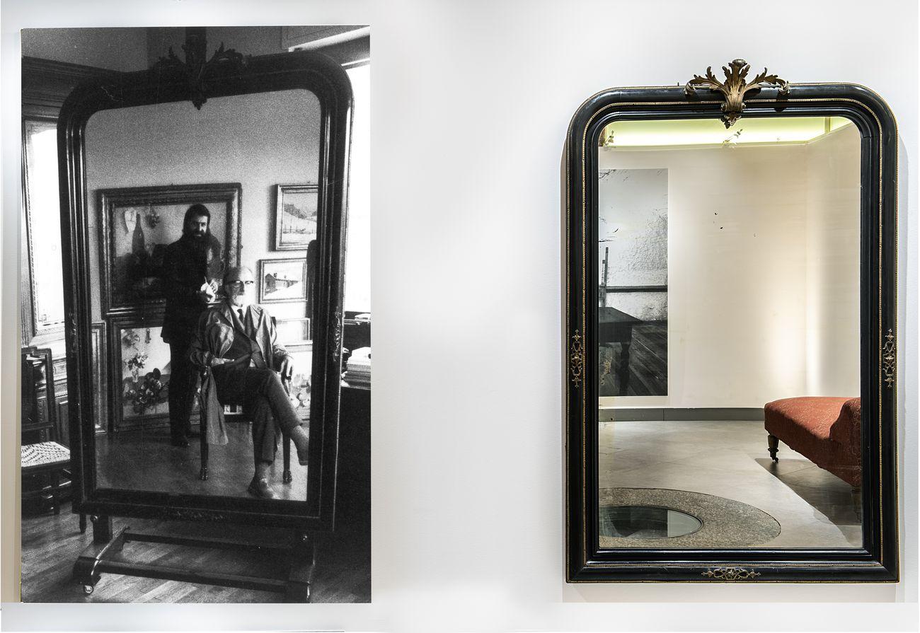 Padre e figlio. Installation view at Palazzo Gromo Losa, Biella 2019. Photo Damiano Andreotti