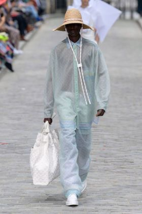 Paris Fashion Week, giugno 2019. Virgil Abloh per Louis Vuitton