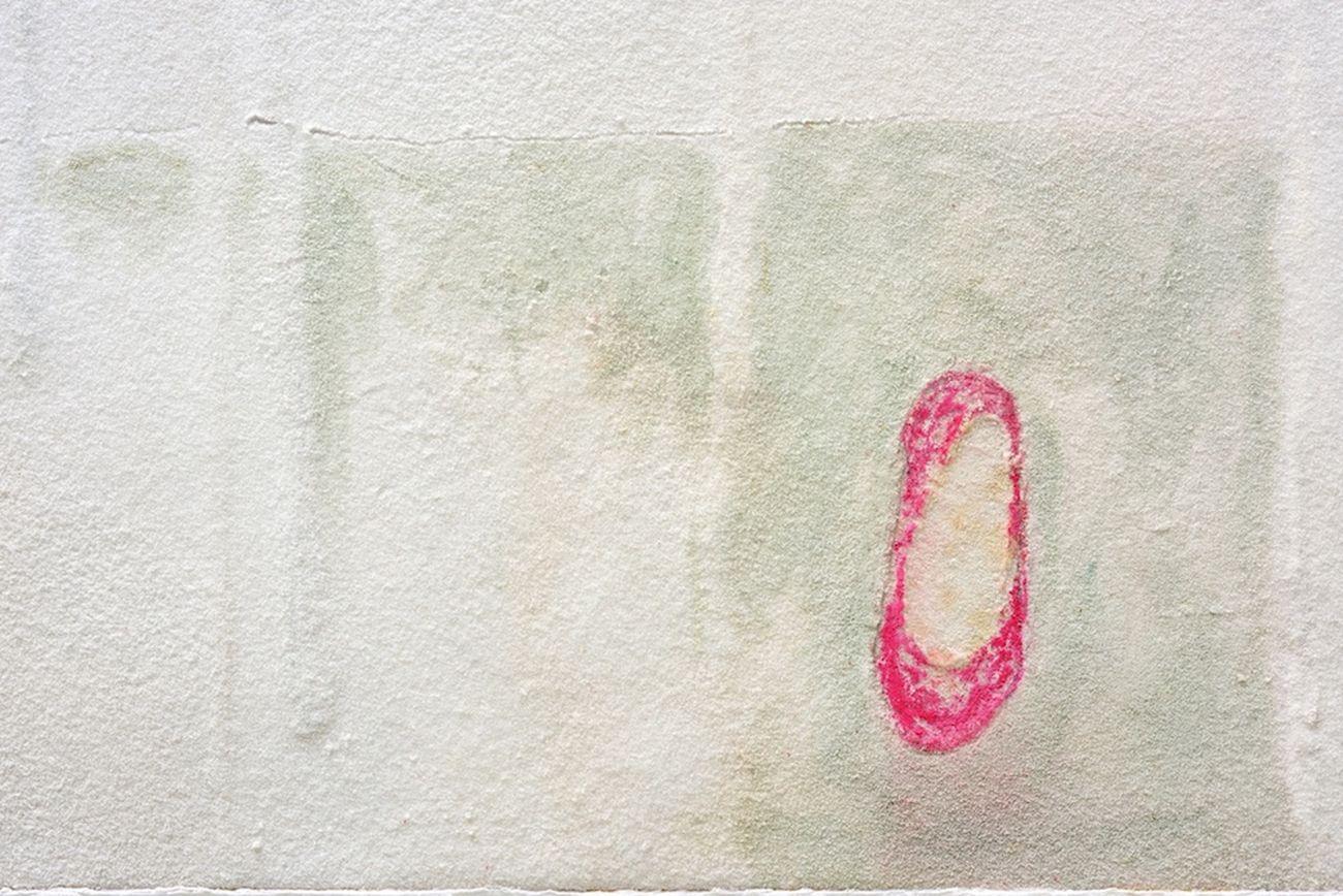 Pier Paolo Calzolari, Haïku [Scarpetta rosa], 2017, dettaglio. Collezione privata, Lisbona. Photo © Michele Alberto Sereni