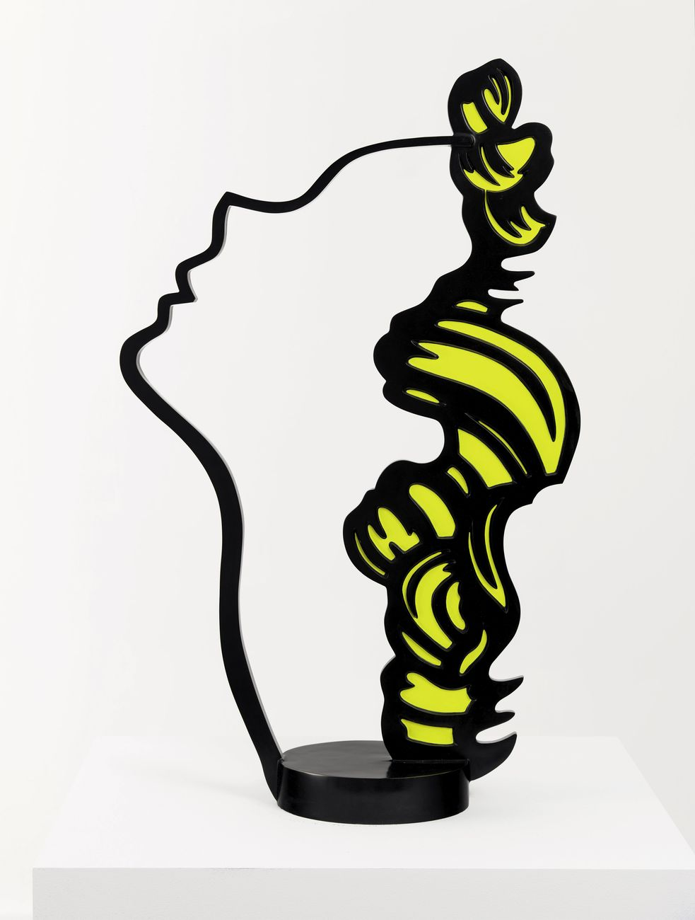 Roy Lichtenstein, Profile Head, 1988. Collezione privata ©Estate of Roy Lichtenstein. Photo Rob McKeever