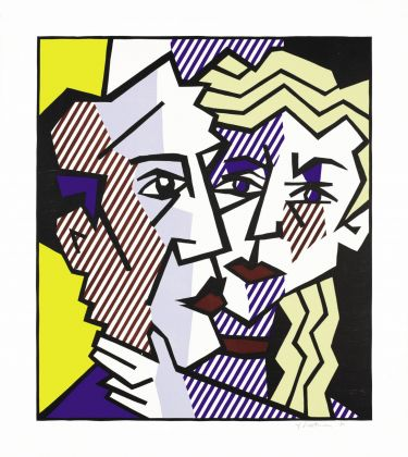 Roy Lichtenstein, The Couple, 1980. The Roy Lichtenstein Foundation Collection © Estate of Roy Lichtenstein