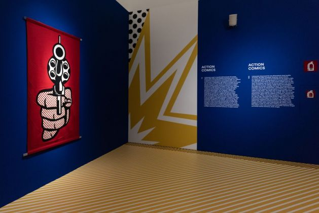 Roy Lichtenstein. Multiple visions. Exhibition view at MUDEC, Milano 2019. Photo © Carlotta Coppo