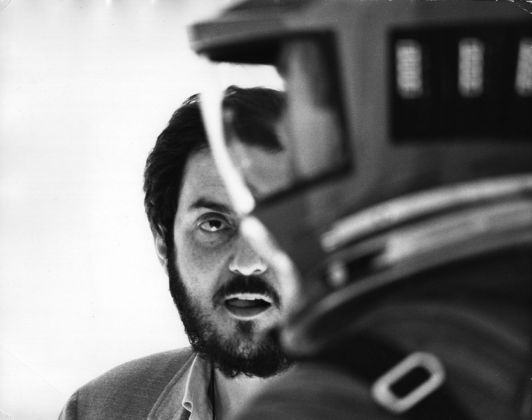 Stanley Kubrick sul set di 2001. Odissea nello spazio (1965 68) © Warner Bros. Entertainment Inc.