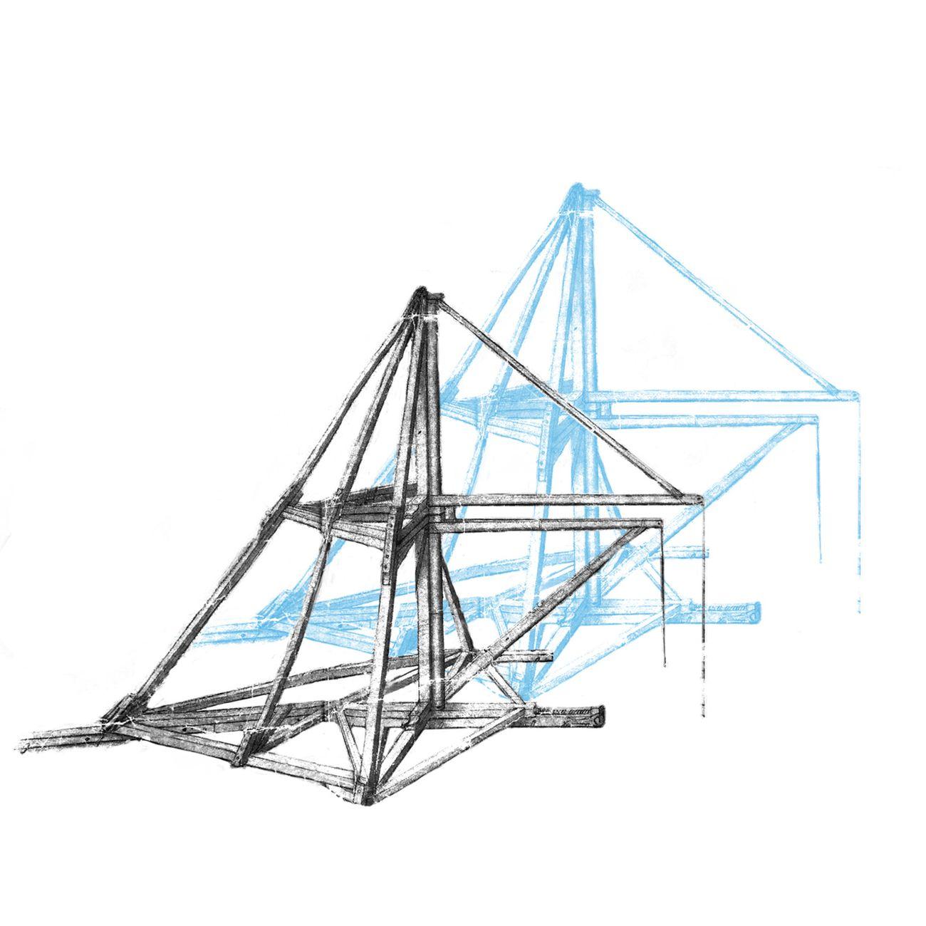Studio Azzurro, Studio progettuale su macchina di Leonardo da Vinci