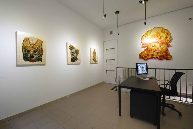 The Fate of Empires. Exhibition view at Cellar Contemporary, Trento 2019