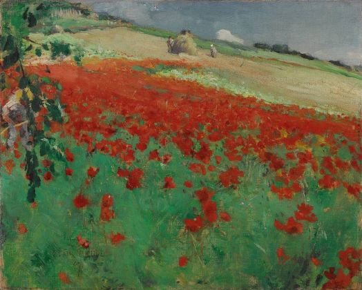 William Blair Bruce, Landscape with Poppies, 1887 © Art Gallery of Ontario, purchased with assistance from Wintario, 1977. Photo Art Gallery of Ontario 7742