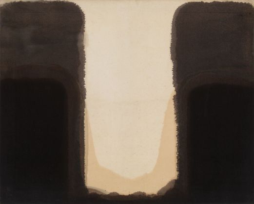 Yun Hyong-keun, Umber Blue, 1978. Courtesy. The Estate of Yun Hyong keun. Photo © Yun Seong ryeol