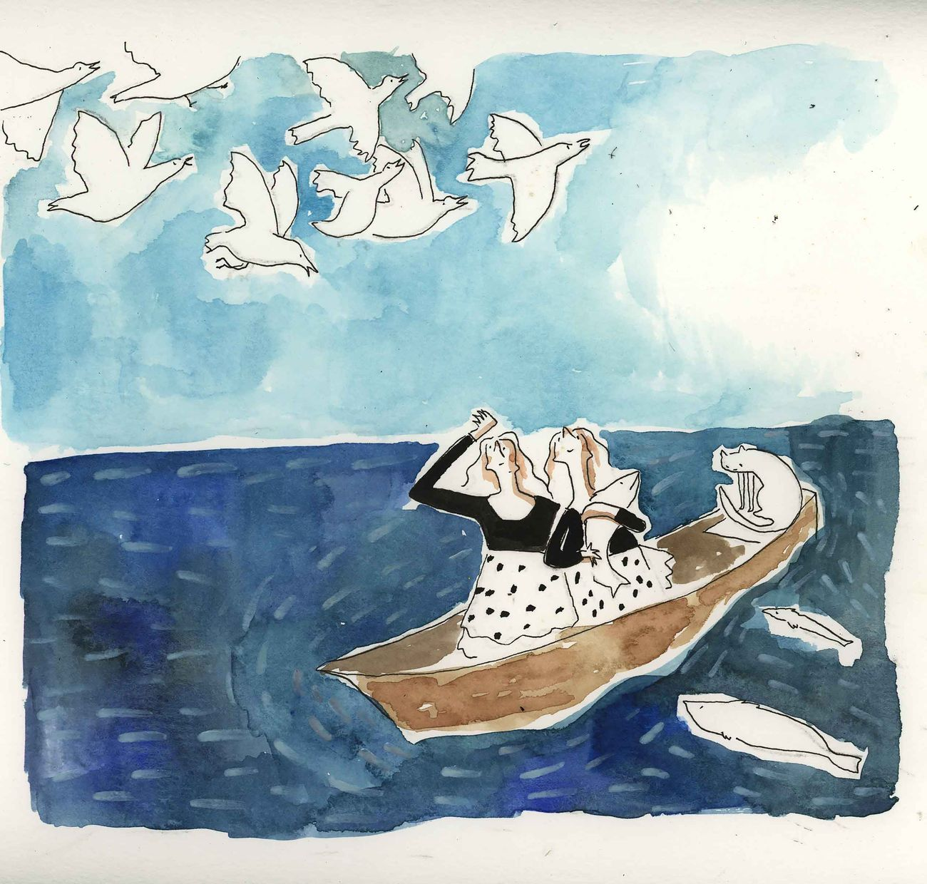 Zahra Marwan, The Fish I Caught in Ruqaiya's Dream, 2019