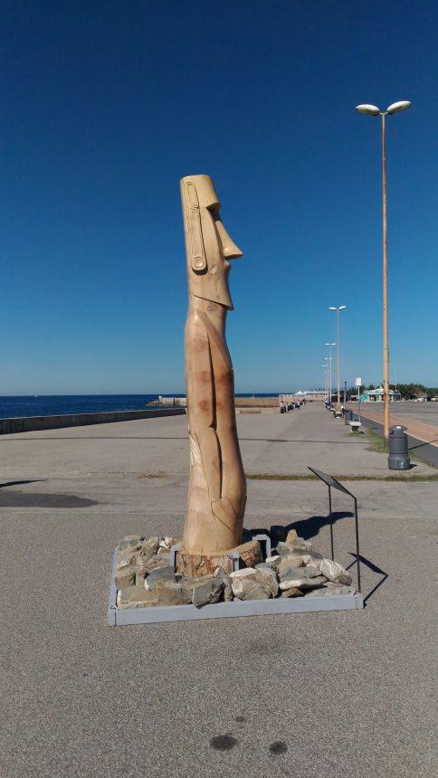 Statue Maori a Livorno