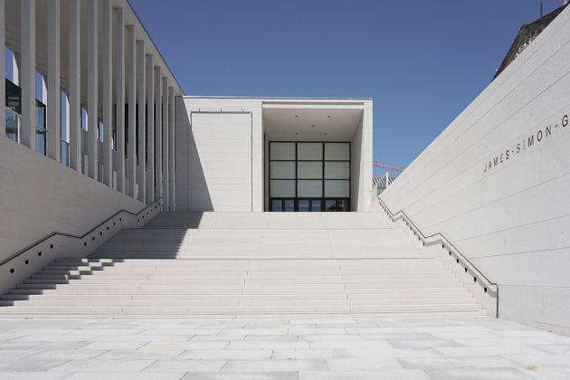 David Chipperfield Architects, James-Simon-Galerie, Berlino. Luglio 2019 – Foto Erika Pisa