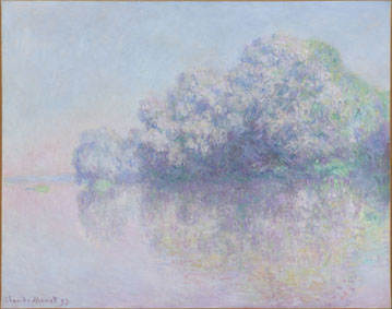 Claude Monet L'ile aux Orties, 1897 Olio su tela, 73,4x92,5 cm Photo Peter Schälchli, Zürich