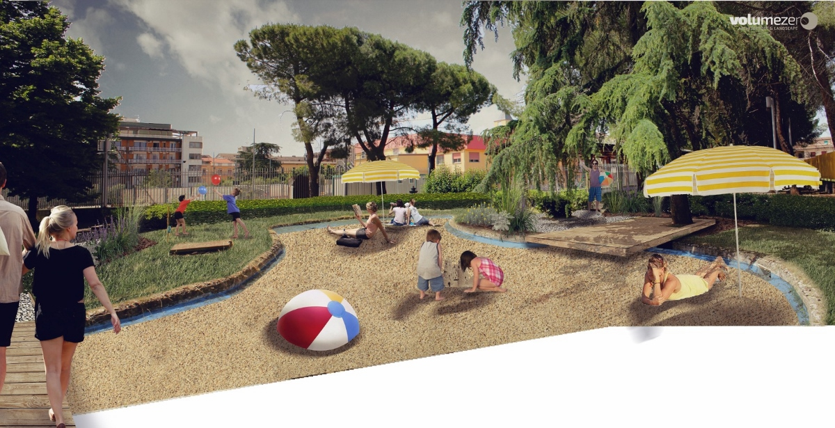 Gardentopia, residenza degli architetti e paesaggisti Volumezero a Lavello