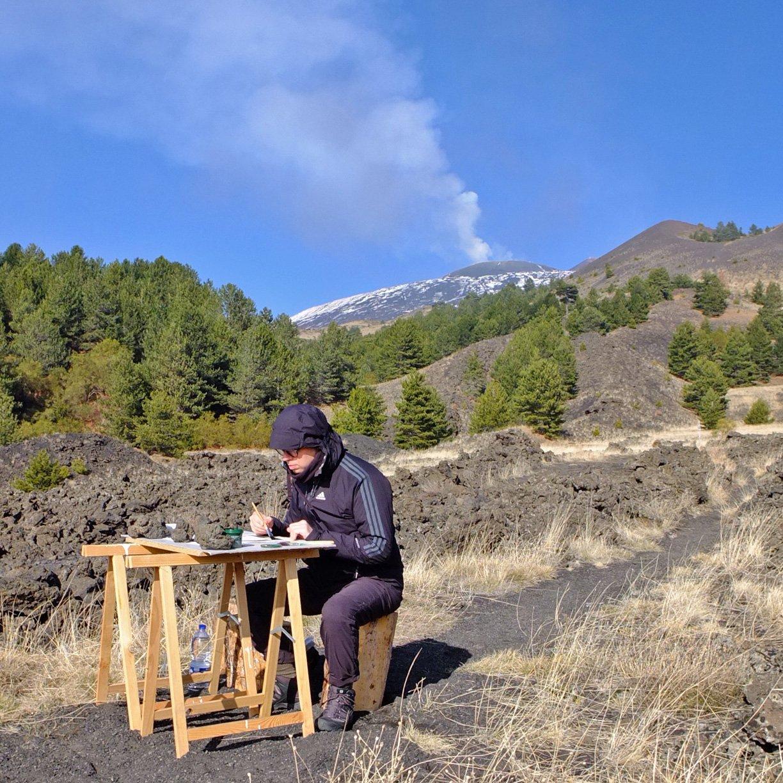 108, studio, Etna, credits Guido Bisagni