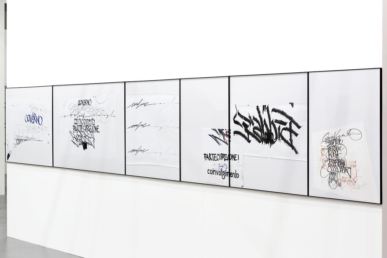Rebecca Moccia, Un linguaggio inaudito, 2018. Courtesy Mazzoleni Art. Photo Renato Ghiazza