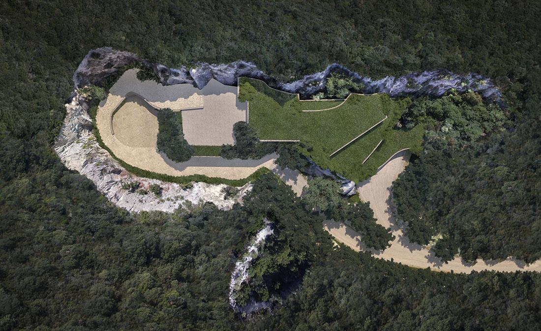 Ex cava di arenaria di Cariola - Courtesy Studio Tori