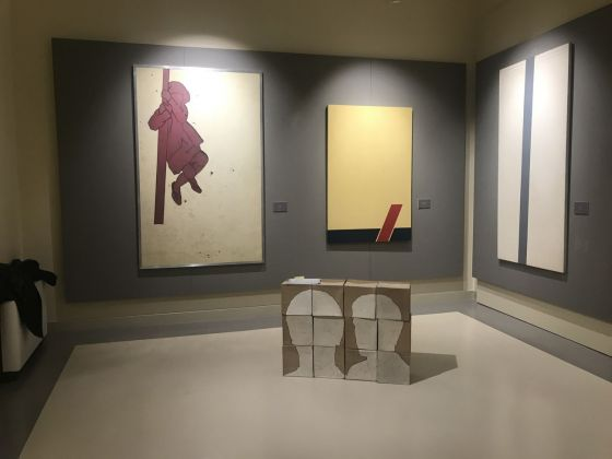 A tutto Mambor, l'arte di osservare. Exhibition view at Villa Zito, Palermo 2019. Photo Marzia Spatafora