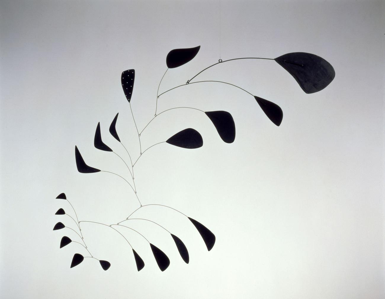 "Alexander Calder, Vertical Foliage, 1941, sheet metal, wire, and paint, 53 1/2"" x 66"", Calder Foundation, New York © 2019 Calder Foundation, New York / ADAGP, Paris"