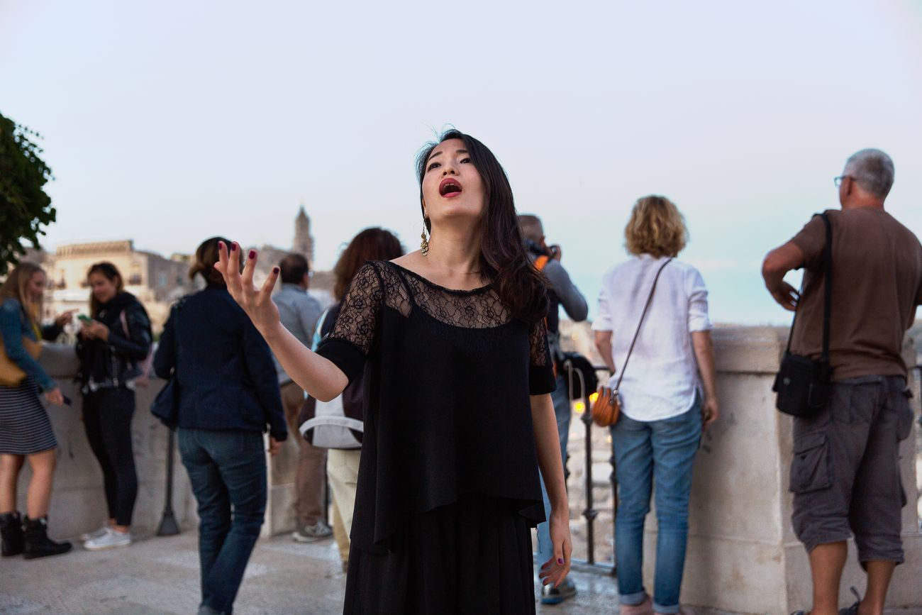 Abitare l'opera. Photo © Luca Centola
