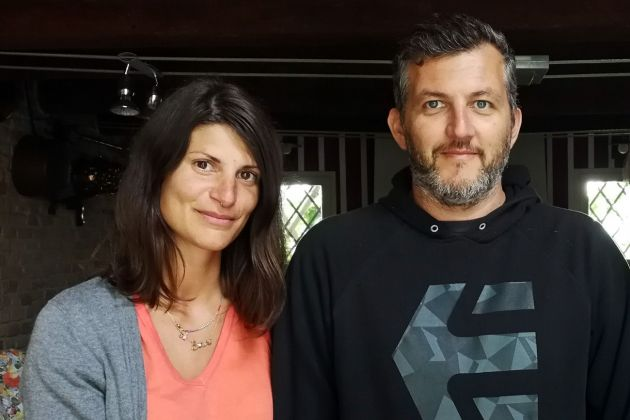 Alessandra Carini e Marco Miccoli, 2017. Photo Marco Miccoli