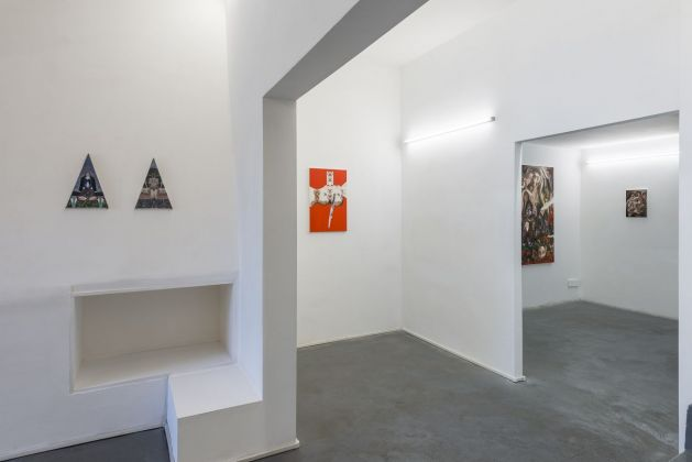 Alessandro Giannì, L'apocalisse dell'ora, exhibition view at AlbumArte, Roma 2019, photo Sebastiano Luciano, courtesy AlbumArte