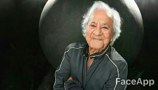 Anish Kapoor con Face App