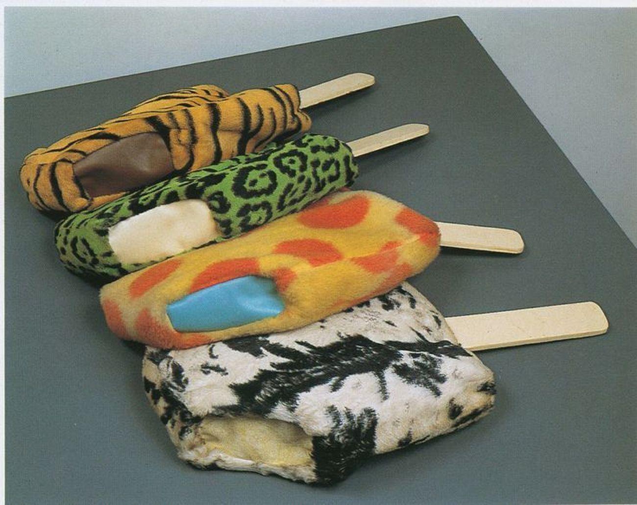 Claes Oldenburg, Soft Fur Good Humors, 1963