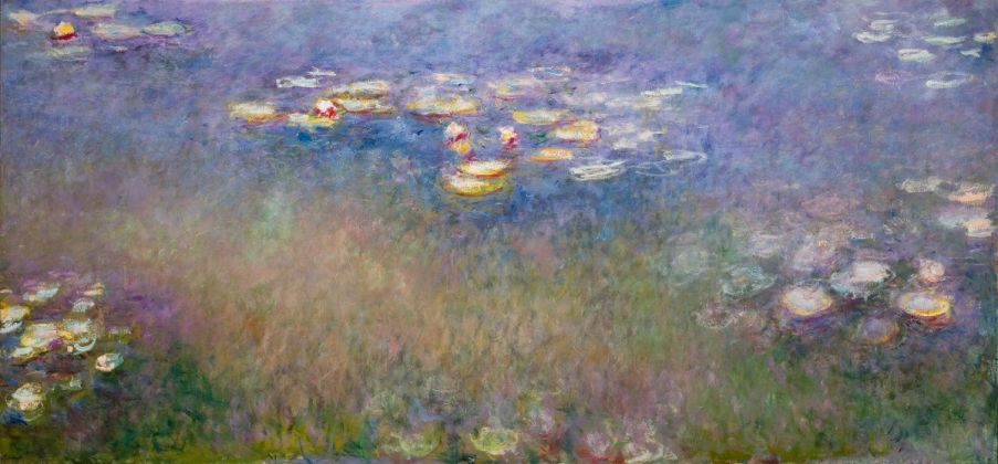 Claude Monet, Water Lilies (Agapanthus), c. 1915–26, Saint Louis Art Museum, The Steinberg Charitable Fund