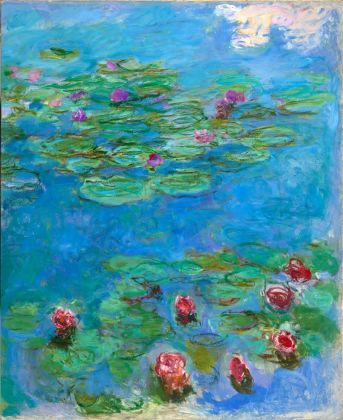 Claude Monet, Water Lilies, c. 1914–17, Fine Arts Museums of San Francisco, Museum purchase, Mildred Anne Williams Collection