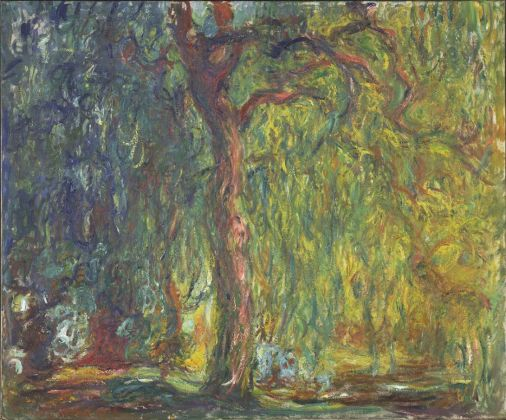 Claude Monet, Weeping Willow, 1918–19, Kimbell Art Museum, Fort Worth, Texas, Purchased 1996, AP