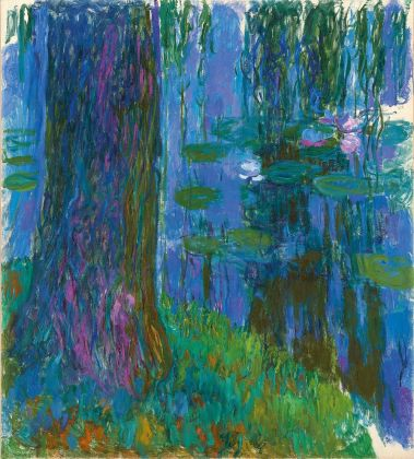 Claude Monet, Weeping Willow and Water Lily Pond, 1916–19, Private collection