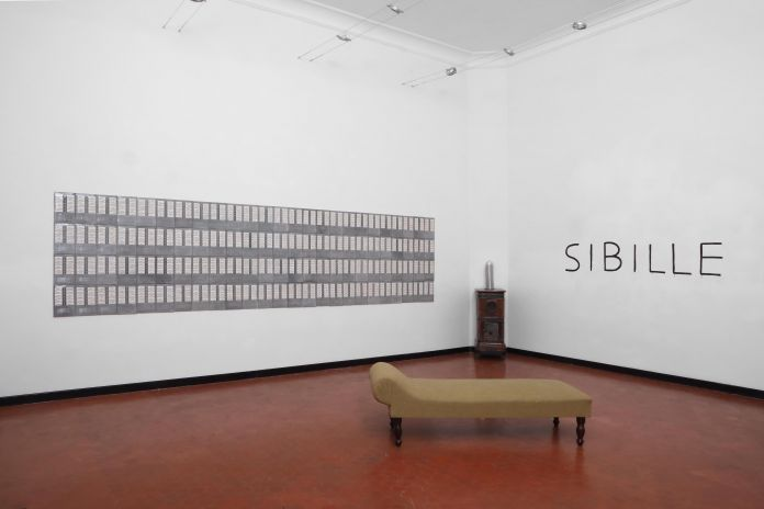Davide Monaldi, Sibille, installation view at Studio Sales, Roma 2019. Courtesy Studio Sales di Norberto Ruggeri