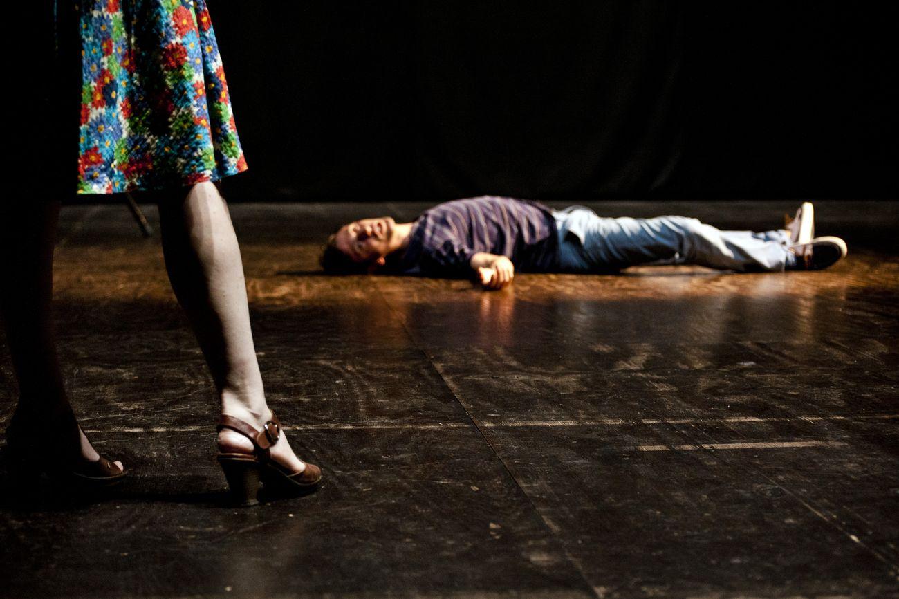 Deflorian/Tagliarini, Reality, photo Silvia Gelli