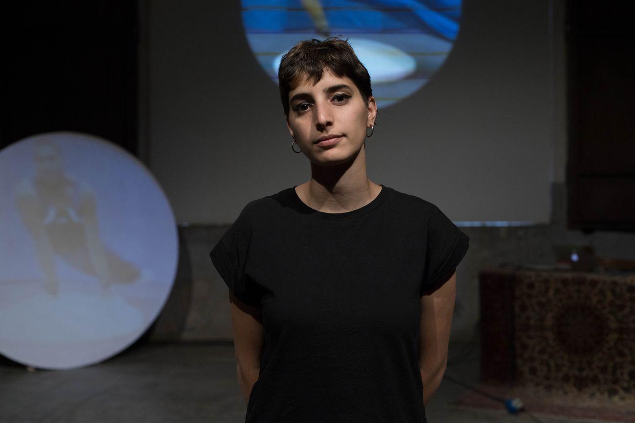 Dina MimI, photo Roberta Segata, courtesy Centrale Fies art work space