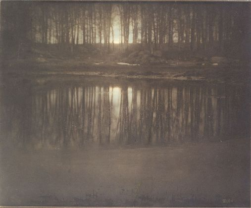 Edward J. Steichen, The Pond — Moonrise, 1904